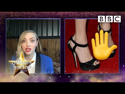 'It's not a vagina on my foot, it's my name!', Amanda Seyfried @The Graham Norton Show - BBC