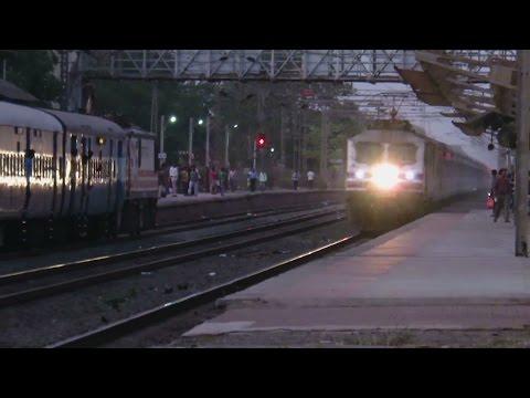 RAGING BULLET : 130 KMPH : Ahmedabad Shatabdi Express Ripped Sanjan with AMUL WAP5 : INDIAN RAILWAYS