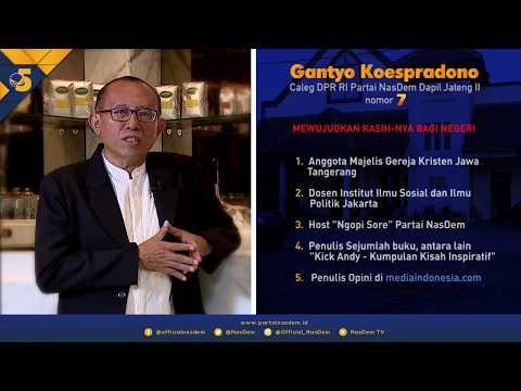 Kebanggaan Gantyo Koespradono Terhadap Indonesia