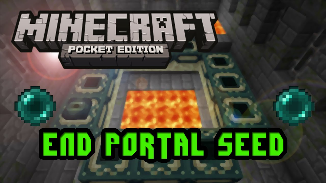 How to make a end portal in minecraft pe 2019