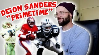 """Rugby Player Reacts to DEION SANDERS """"Prime Time"""" NFL Career Highlights Video!"""