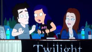 Best moment of comic con on the Cleveland show