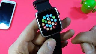 ساعة ذكية تستقبل المكالمات والرسائل ومواصفات عالية Review Atongm Smart Watch