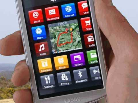 TrailTrak - Vodafone 360 widget