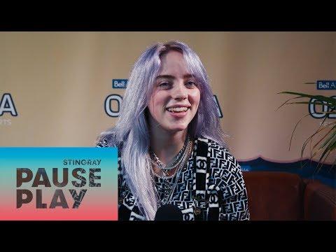 Billie Eilish Interview | Osheaga 2018 | Stingray PausePlay