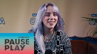 Billie Eilish Interview | Osheaga 2018 | Stingray PausePlay