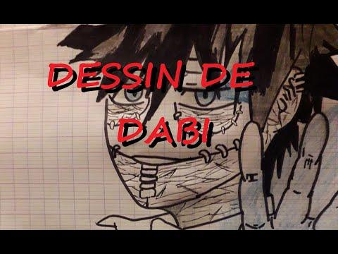 dessin de Dabi MHA - YouTube