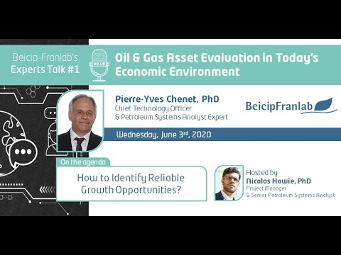 Oil and Gas Asset Evaluation in Today's Economic Environment by Pierre Yves Chenet