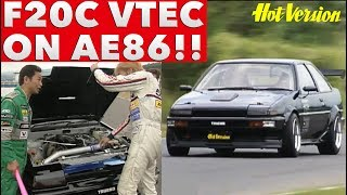 《ENG-SUB》AE86にVTECを載せちゃった!!  AE86 is equipped with VTEC!!【Best MOTORing】