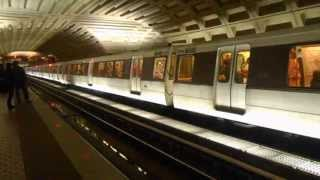 Washington Metro (WMATA): Shady Grove bound Red line train at Metro Center