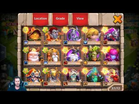 100% Free 2 Play Rolling 21000 Gems Looking 4 SK Aries Medusa Castle Clash