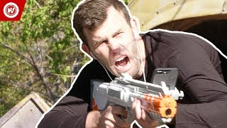 Laser Tag Meets Video Games | Brodie Smith