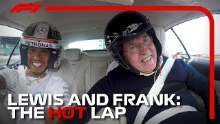 Lewis Hamilton and Frank Williams: A Very Special Hot Lap