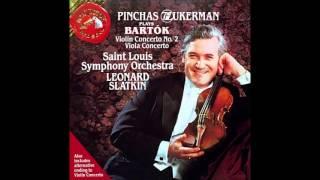 ~ Pinchas Zukerman:Violin - Viola Concerto ~
