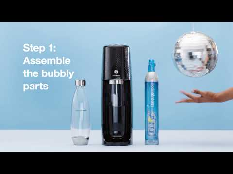 How to Use Your One Touch SodaStream Sparkling Water Maker