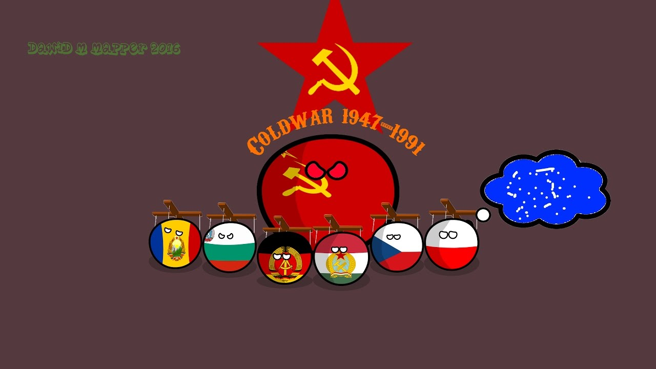 The Cold War Country Balls