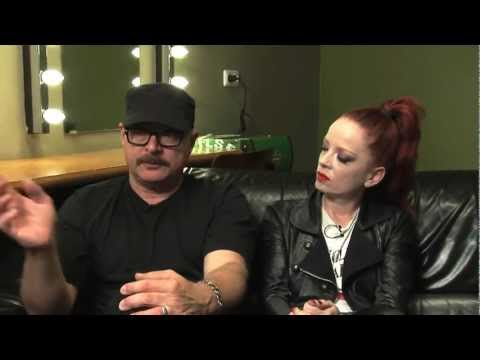 Garbage interview - Shirley Manson and Steve Marker (part 2)