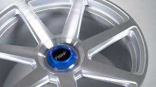 TSW Alloy Wheels - Evo-T in Silver w/ Brushed Face
