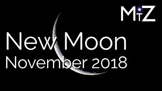 New Moon November 6th 7th & 8th 2018 - True Sidereal Astrology