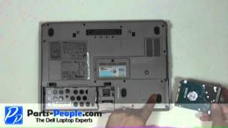 Dell Latitude D630 | Hard Drive Replacement | How-To-Tutorial