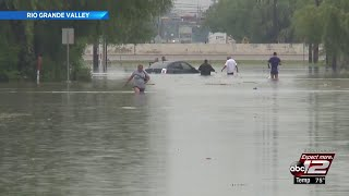 Video: Heavy floods cause severe damage, displace many Rio Grande Valley residents