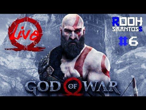((LIVE)) God of War 4 _ #6 Esplorando Lago dos Nove- PS4