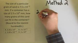 HSE Test Practice: Math - Scientific Method