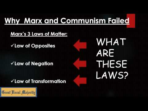 The Basic Error of Marxism