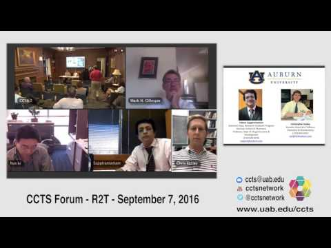 """CCTS Forum: """"R2T"""""""