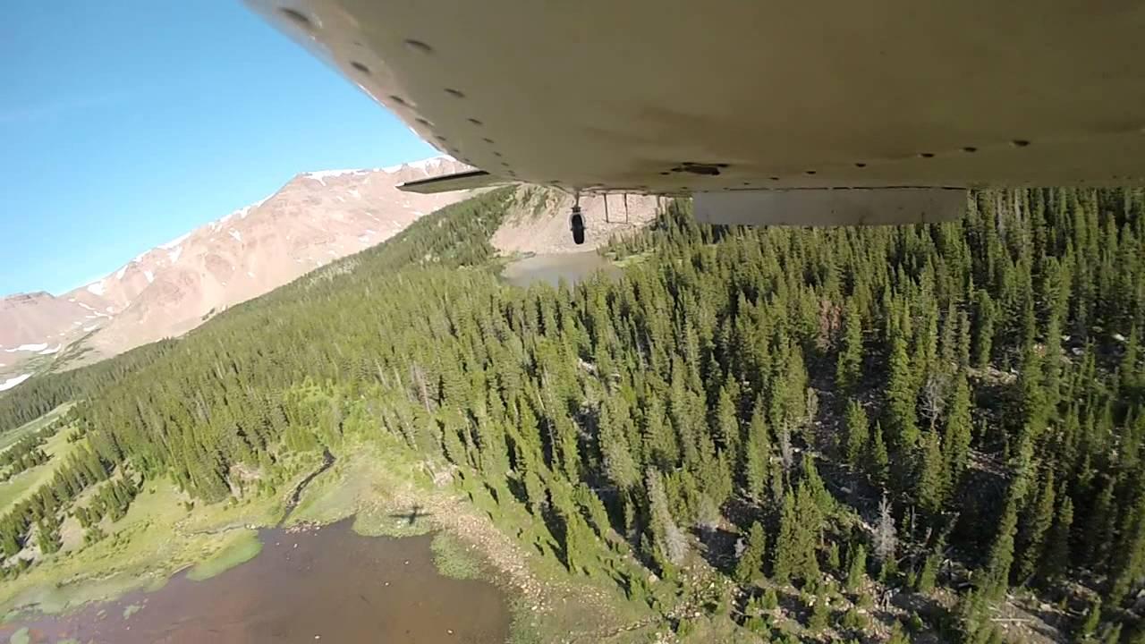 Aerial stocking utah 1 youtube for Utah fish stocking report