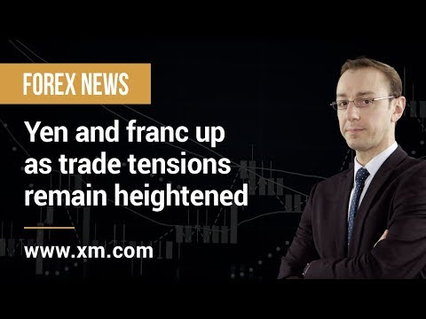 Forex News: 13/05/2019 - Yen and franc up as trade tensions remain heightened