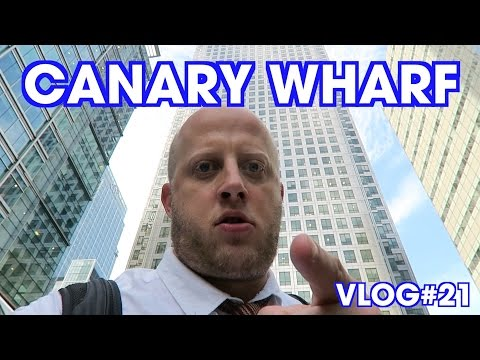 Canary Wharf & Museum of London Docklands  - Vlog#21 - Marek Larwood
