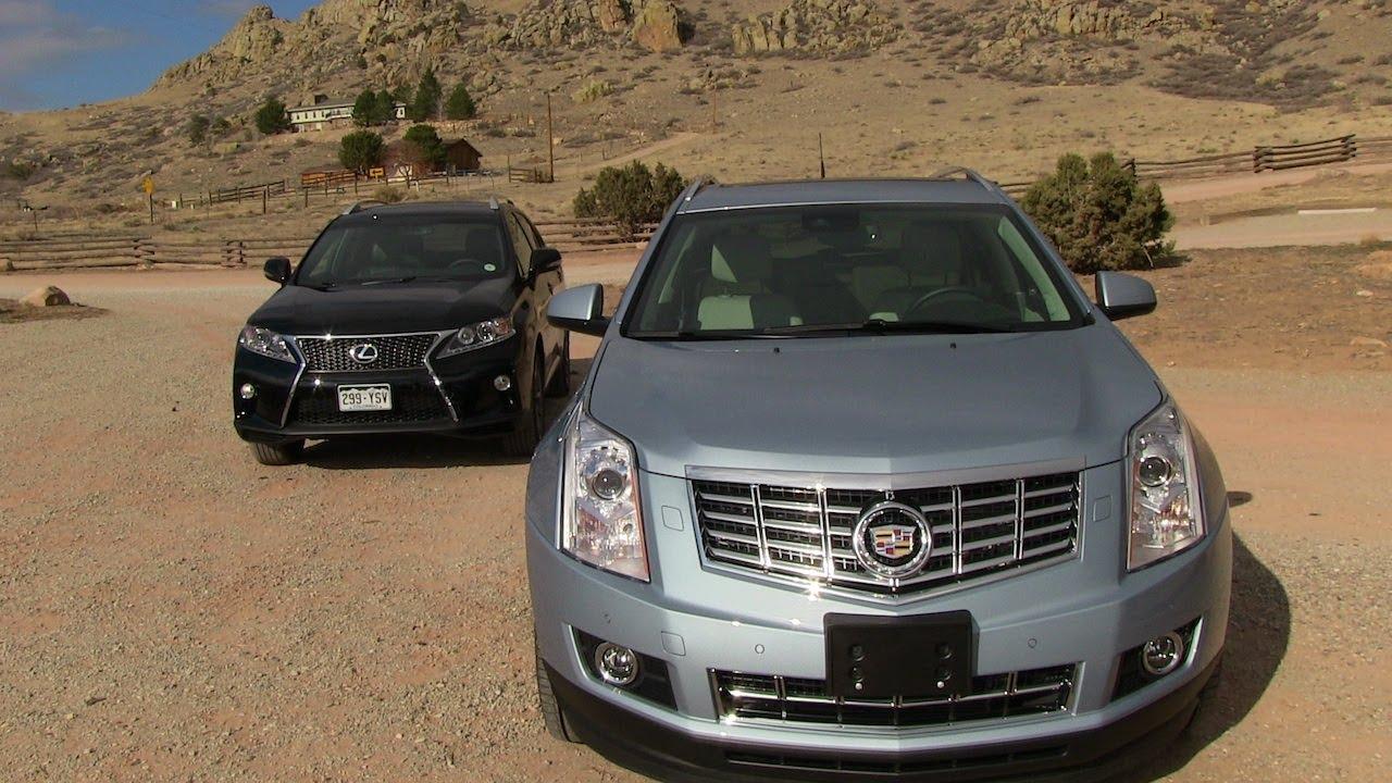 2013 Cadillac SRX vs Lexus RX 350 F Sport 0 60 MPH Mile