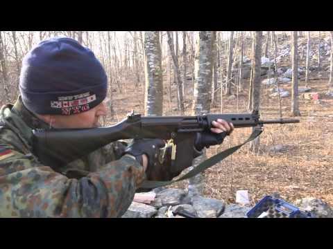 FN FAL 7 62x51 (308) - YouTube
