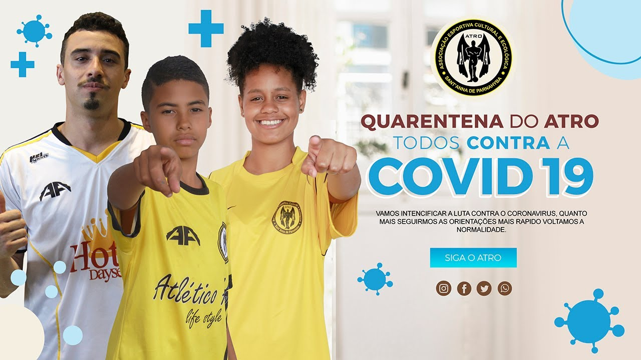 Quarentena do Atlético Atro | #Covid19