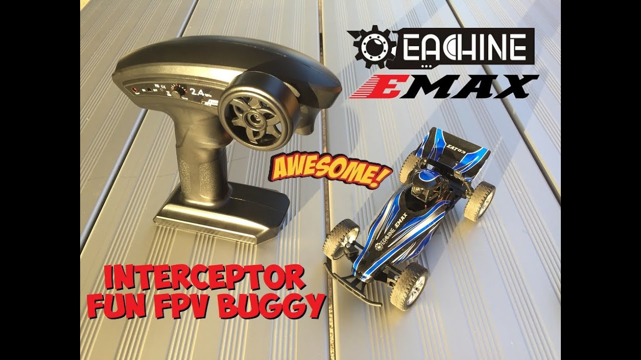 Eachine EMAX EAT03 Interceptor FPV Buggy - Great Fun for the Price!