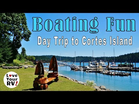 Boating Day Trip to Cortes Island and DOLPHINS!