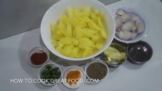 Jeera Aloo Recipe - Vegan Indian Cumin & Potatoes