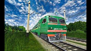 RTrainSim || Інструкція по управлінню електропоїздом ''ЭР2т/ЭР2р''