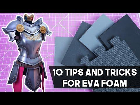 10 Tips and Tricks for EVA Foam!
