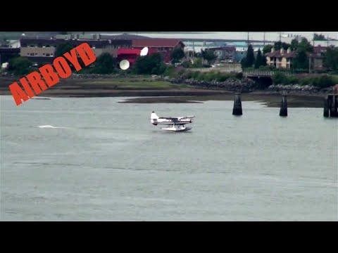 DeHavilland Super Otter Landing Juneau