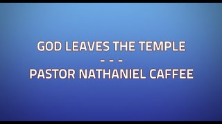God Leaves the Temple