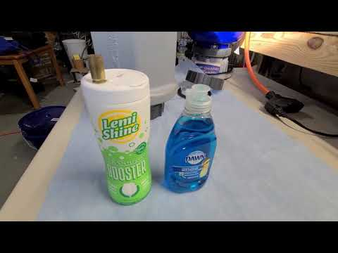 Wet Tumbling Brass - Easy Way To Clean Brass Together Of Different Sizes