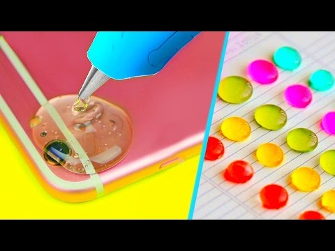 7 GLUE GUN LIFE HACKS + DIYS YOU MUST TRY