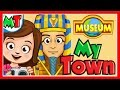 My Town Museum: Fun Children's Games - My Town App For Kids