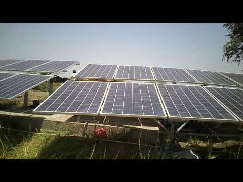 5hp Solar water pump installed at Narthan Olpad Surat by S P SOLAR 9724792807