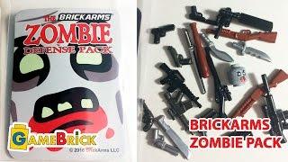 ЛЕГО ОРУЖИЕ Обзор брикармс зомби пак + Розыгрыш! brickarms Zombie Defense 2016 Pack