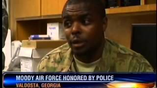 Moody Air Force Honored By Police