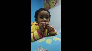 Innocent baby fighting with mom, baby argue with mom for lollipop ,arguing with mom asking lolipop