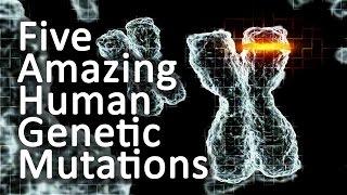 Five Amazing Genetic Human Mutations